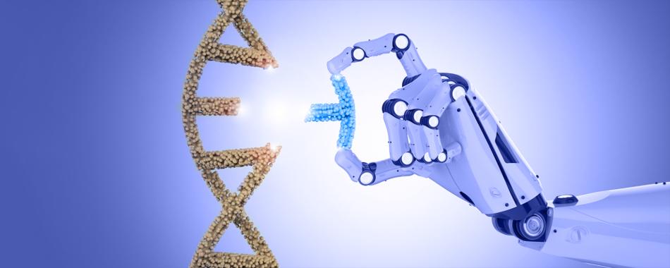 Искусственный интеллект способен редактировать геном человека