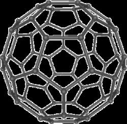 Структурная формула фуллерена