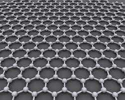 Графен представляет гексагональную решетку, состоящую из атомов углерода