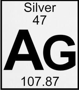 Положение серебра в ПСЭ