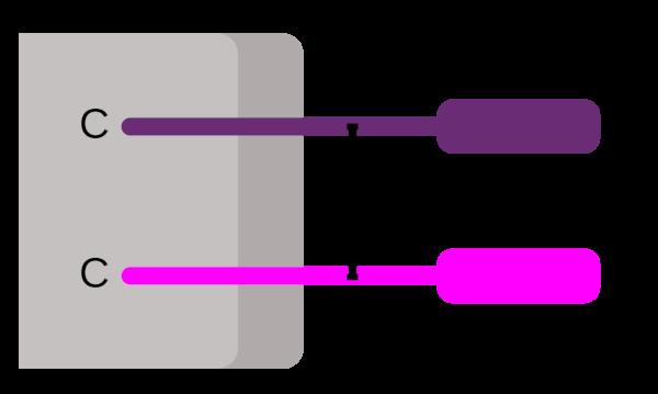 Схематическое изображение гетеродимерного корецептора CD8